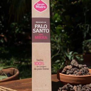 Sahumerio Palo Santo y Mirra