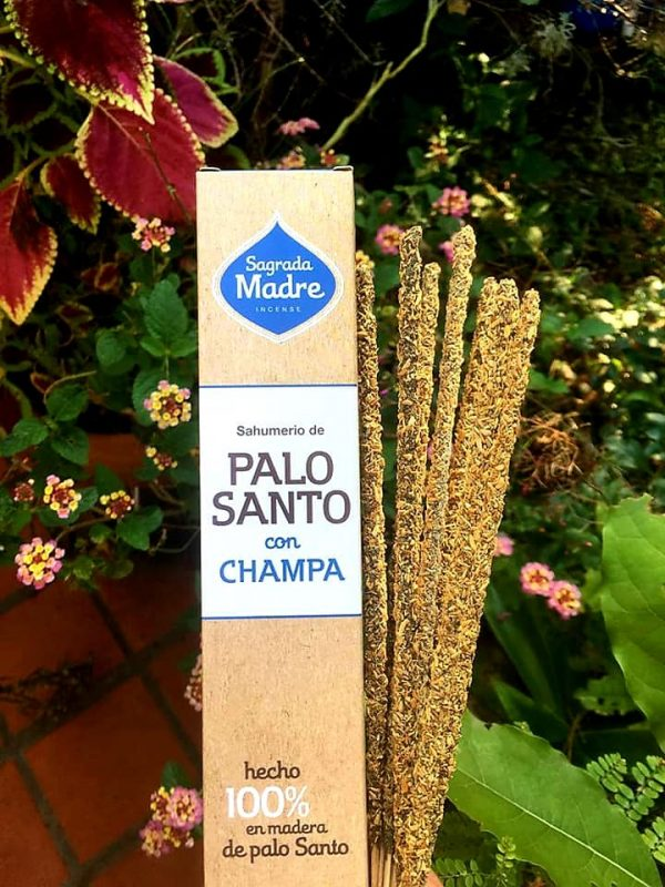 Sahumerio Palo Santo y Champa