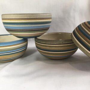 Compotera de cerámica