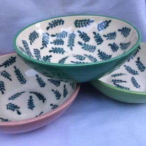 Ensaladera de cerámica