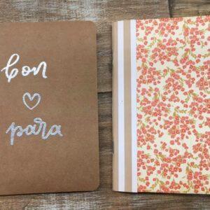 Caderno artesanal